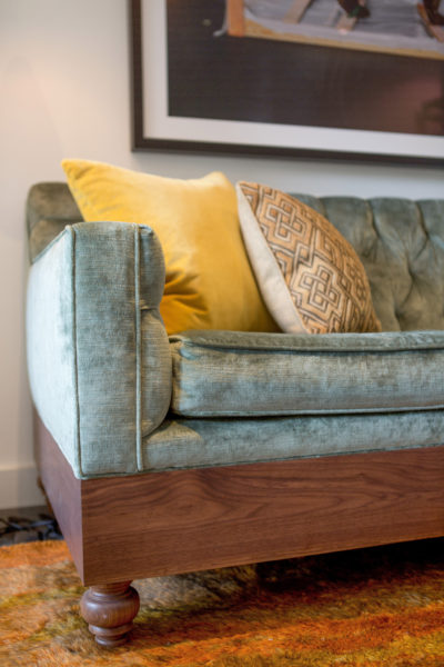 Custom Sofa Designed by Alden Miller