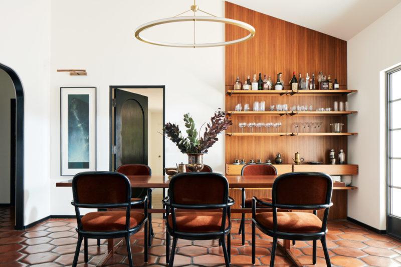 Alden Miller Interiors Palo Alto dining room