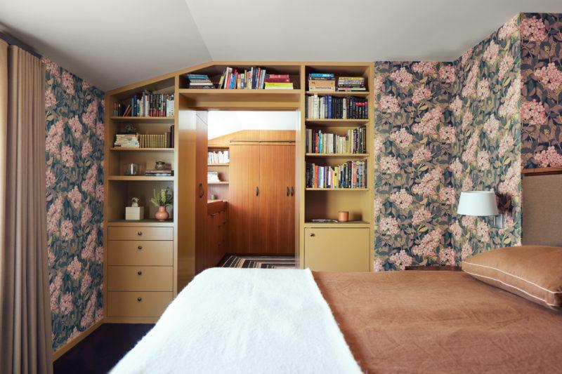 Alden Miller Interiors Palo Alto Master Bedroom