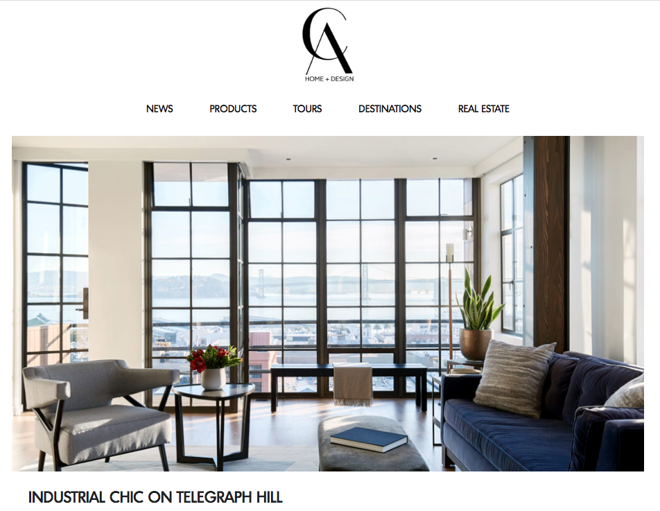 Featured San Francisco Industrial Loft In California Home Design Alden Miller Interiors