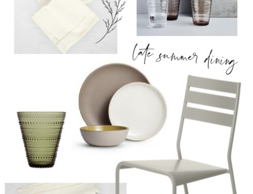 AMI Seasonal Collection – Late Summer Outdoor Design