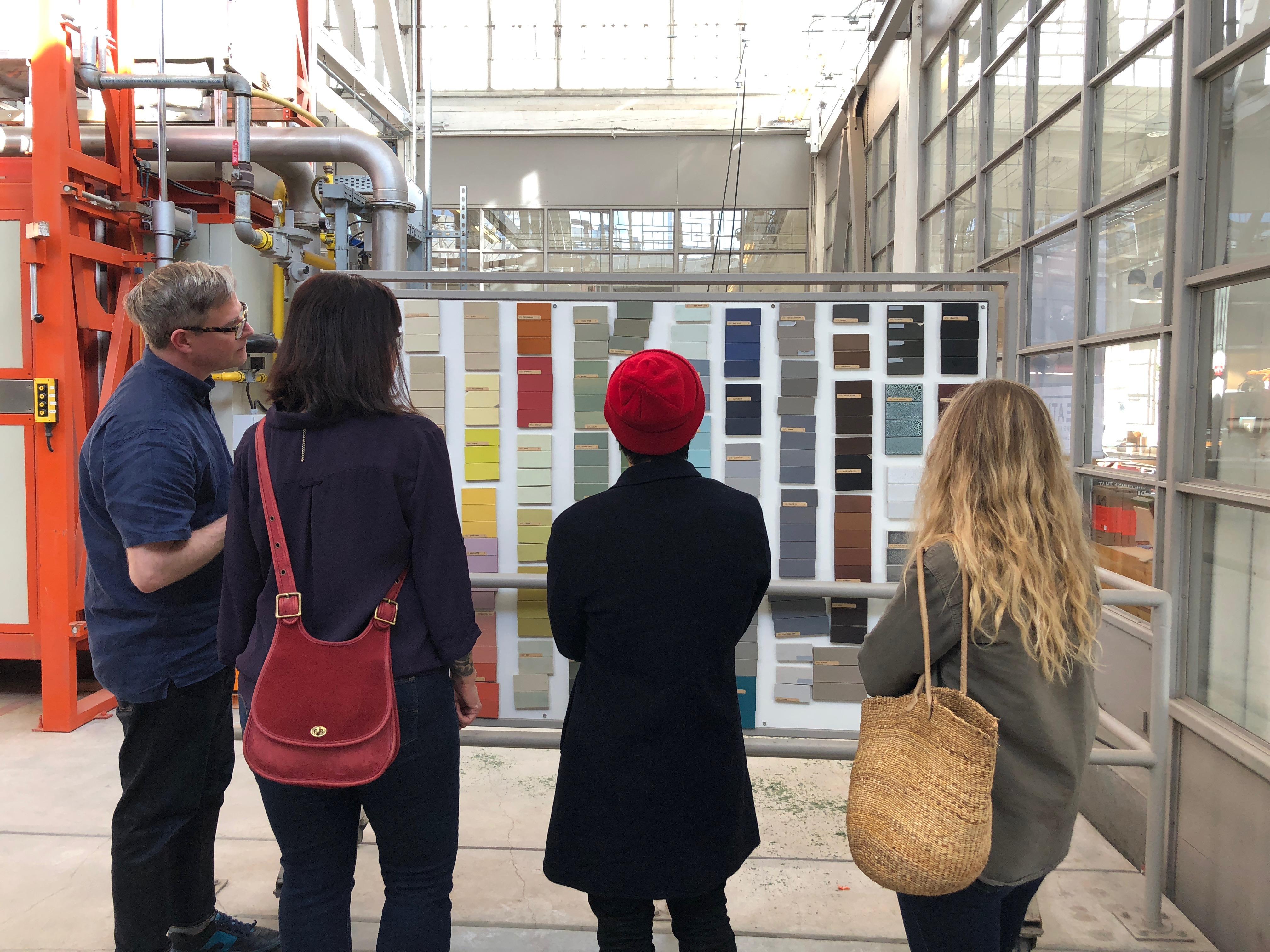 Touring Tile @ Heath Ceramics - Alden Miller Interiors
