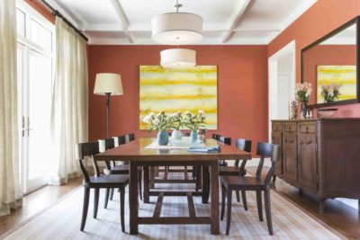 Sonoma house dining room